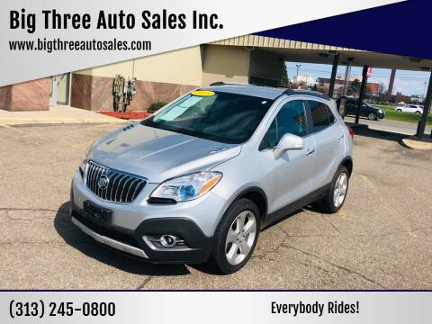 2015 Buick Encore for sale at Big Three Auto Sales Inc. in Detroit MI