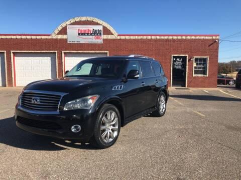 2011 Infiniti QX56 for sale at Family Auto Finance OKC LLC in Oklahoma City OK