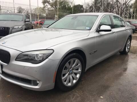 2011 BMW 7 Series for sale at Texas Luxury Auto in Houston TX