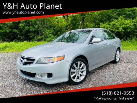 2007 Acura TSX for sale at Y&H Auto Planet in West Sand Lake NY