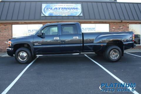 2005 GMC Sierra 3500 for sale at Platinum Auto World in Fredericksburg VA
