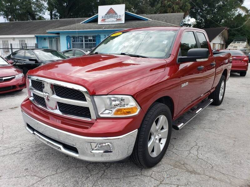 2009 Dodge Ram Pickup 1500 for sale at Always Approved Autos in Tampa FL
