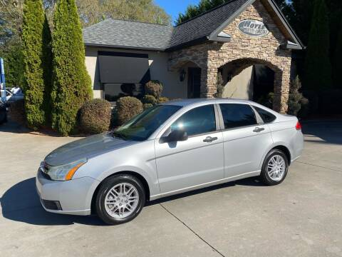 2010 Ford Focus for sale at Hoyle Auto Sales in Taylorsville NC
