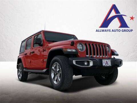 2019 Jeep Wrangler Unlimited for sale at ATASCOSA CHRYSLER DODGE JEEP RAM in Pleasanton TX