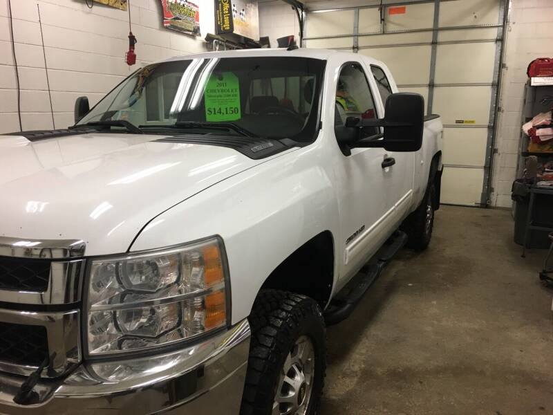 2011 Chevrolet Silverado 2500HD for sale at Lakeside Auto & Sports in Garrison ND