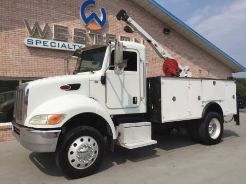 2008 Peterbilt Mechanics Truck for sale at Western Specialty Vehicle Sales in Braidwood IL