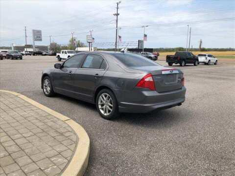 2012 Ford Fusion for sale at Herman Jenkins Used Cars in Union City TN