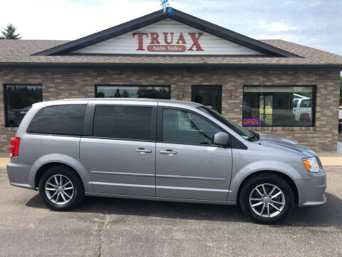 2016 Dodge Grand Caravan for sale at Truax Auto Sales Inc. in Deer Creek MN