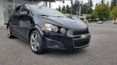 2016 Chevrolet Sonic for sale at Seattle Auto Deals in Everett WA