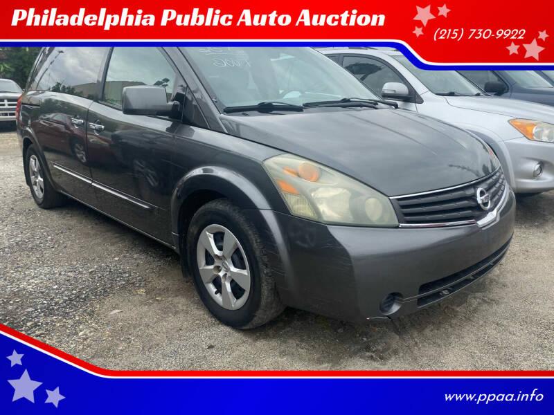 2007 Nissan Quest for sale at Philadelphia Public Auto Auction in Philadelphia PA