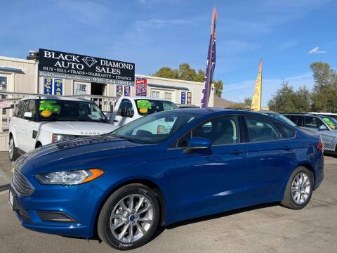 2017 Ford Fusion for sale at Black Diamond Auto Sales Inc. in Rancho Cordova CA