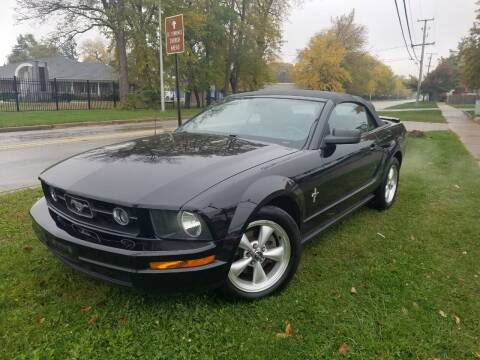 2007 Ford Mustang for sale at RBM AUTO BROKERS in Alsip IL