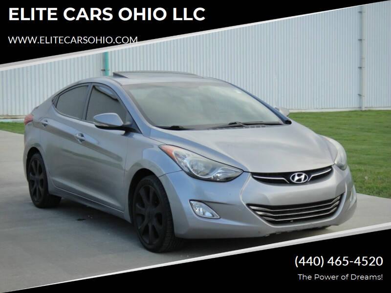2011 Hyundai Elantra for sale at ELITE CARS OHIO LLC in Solon OH