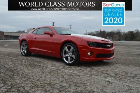 2010 Chevrolet Camaro for sale at World Class Motors LLC in Noblesville IN