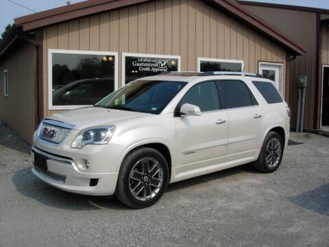 2012 GMC Acadia for sale at Greg Vallett Auto Sales in Steeleville IL