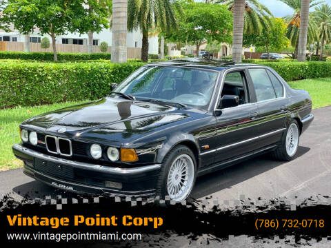 1988 BMW 7 Series for sale at Vintage Point Corp in Miami FL