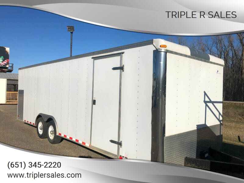 2005 Pace American enclosed 8x24 for sale at Triple R Sales in Lake City MN