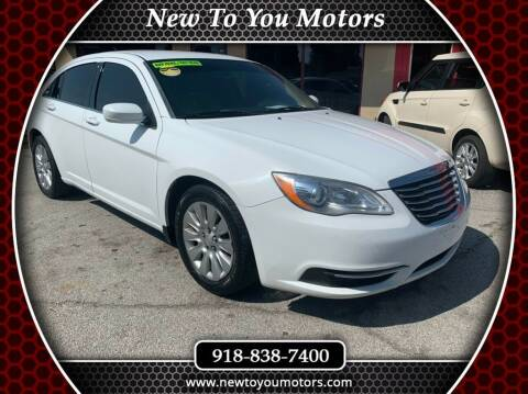 2013 Chrysler 200 for sale at New To You Motors in Tulsa OK
