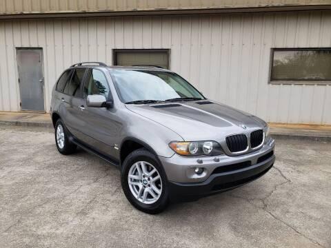2006 BMW X5 for sale at M & A Motors LLC in Marietta GA