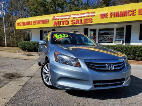 2011 Honda Accord for sale at Acceptance Auto Sales in Marietta GA