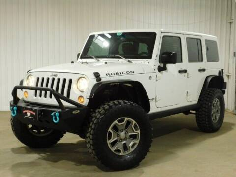 2015 Jeep Wrangler Unlimited for sale at Bulldog Motor Company in Borger TX