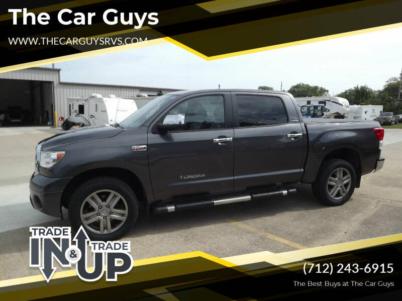 2013 Toyota Tundra for sale at The Car Guys RV & Auto in Atlantic IA