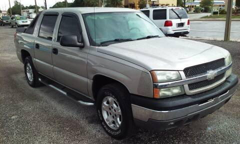2004 Chevrolet Avalanche for sale at Pinellas Auto Brokers in Saint Petersburg FL