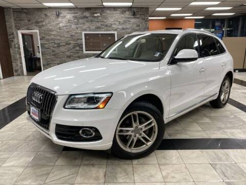 2016 Audi Q5 for sale at Sonias Auto Sales in Worcester MA