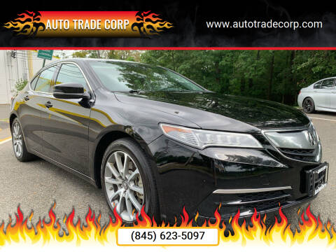 2015 Acura TLX for sale at AUTO TRADE CORP in Nanuet NY