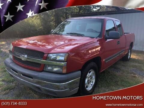 2003 Chevrolet Silverado 1500 for sale at Hometown Motors in Maumelle AR
