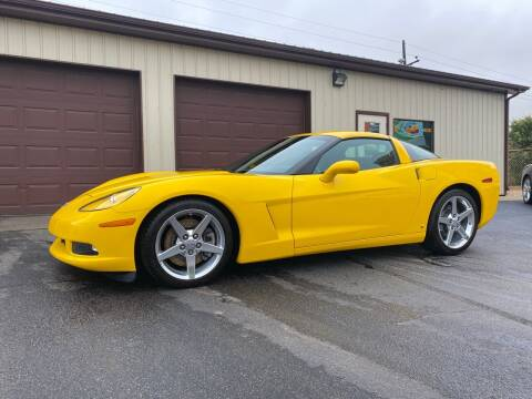 2007 Chevrolet Corvette for sale at Ryans Auto Sales in Muncie IN