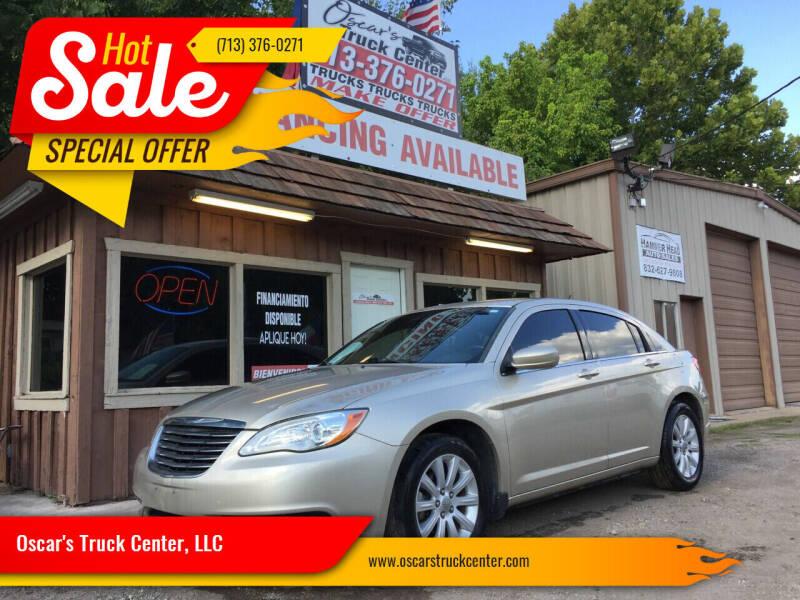 2013 Chrysler 200 for sale at Oscar's Truck Center, LLC in Houston TX