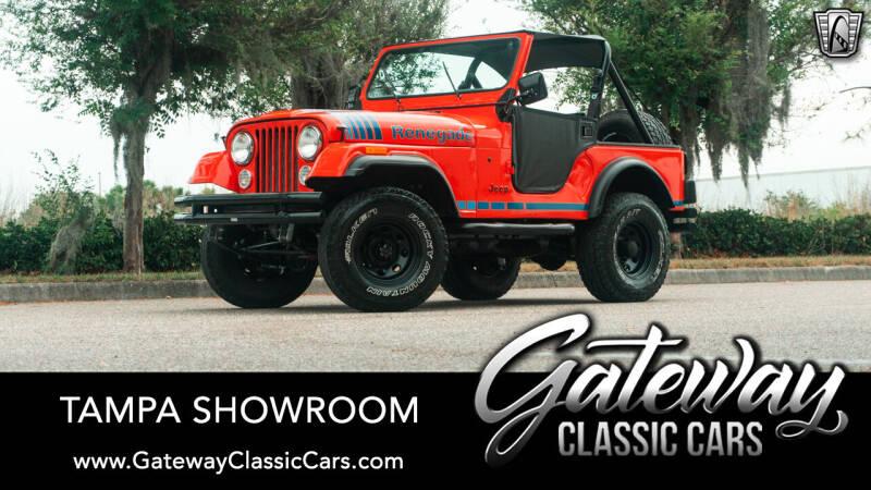 1980 Jeep CJ-5 for sale in Ruskin, FL