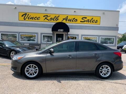 2018 Ford Focus for sale at Vince Kolb Auto Sales in Lake Ozark MO