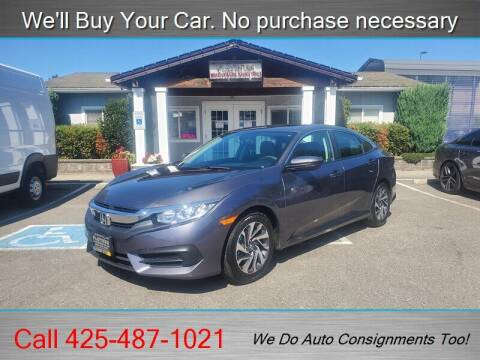 2017 Honda Civic for sale at Platinum Autos in Woodinville WA