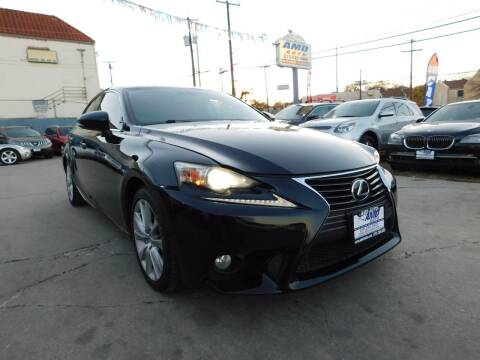 2014 Lexus IS 250 for sale at AMD AUTO in San Antonio TX