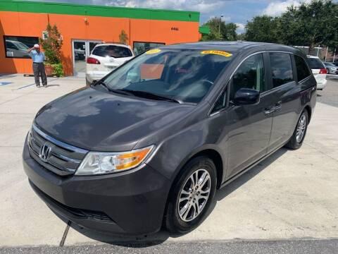 2013 Honda Odyssey for sale at Galaxy Auto Service, Inc. in Orlando FL