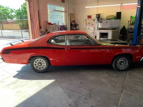 1972 Plymouth Duster for sale at Classic Car Deals in Cadillac MI