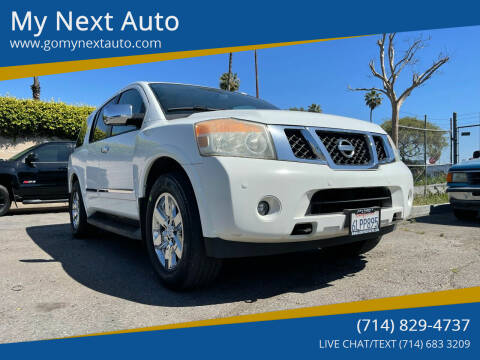 2010 Nissan Armada for sale at My Next Auto in Anaheim CA