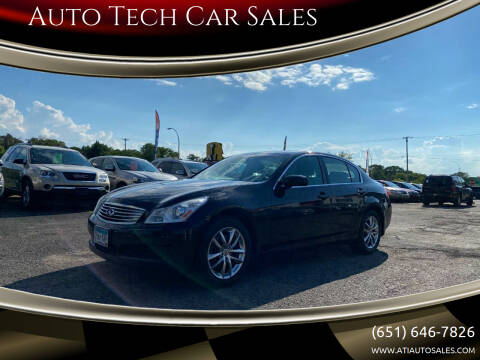 2008 Infiniti G35 for sale at Auto Tech Car Sales in Saint Paul MN