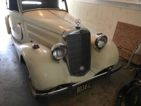 1938 Mercedes-Benz 170S for sale at Gullwing Motor Cars Inc in Astoria NY