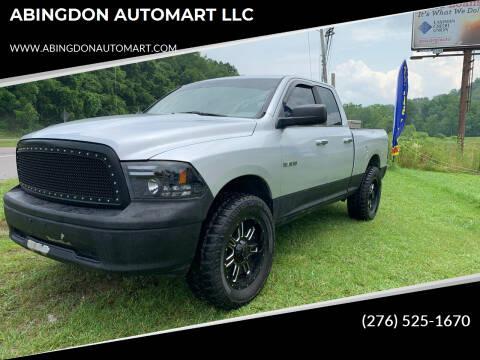 2009 Dodge Ram Pickup 1500 for sale at ABINGDON AUTOMART LLC in Abingdon VA
