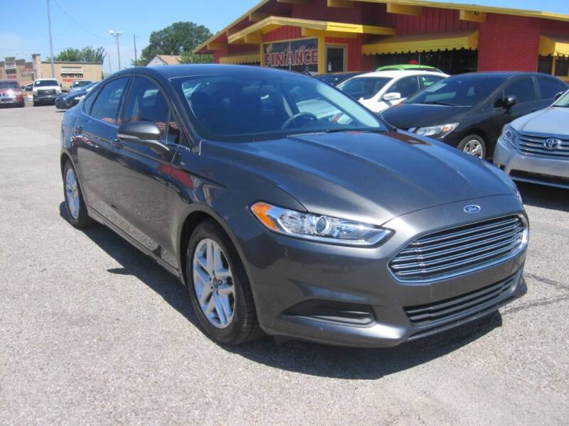 2016 Ford Fusion for sale at T & D Motor Company in Bethany OK