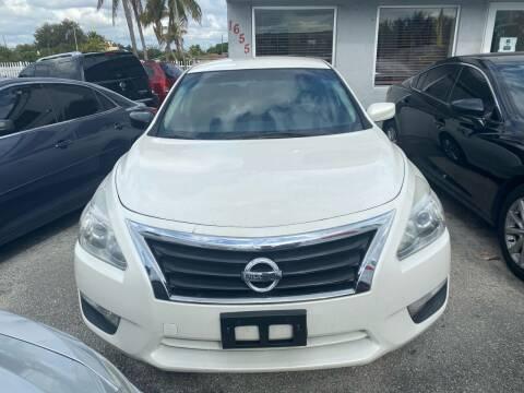 2014 Nissan Altima for sale at America Auto Wholesale Inc in Miami FL