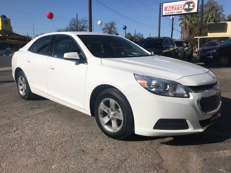 2016 Chevrolet Malibu Limited for sale at Auto A to Z / General McMullen in San Antonio TX
