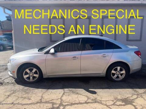 2011 Chevrolet Cruze for sale at Certified Auto Sales, Inc in Lorain OH