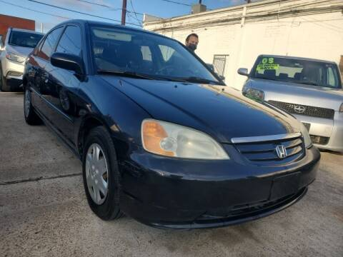 2003 Honda Civic for sale at USA Auto Brokers in Houston TX