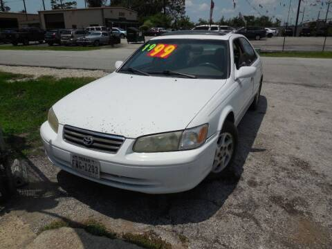 2001 Toyota Camry for sale at SCOTT HARRISON MOTOR CO in Houston TX