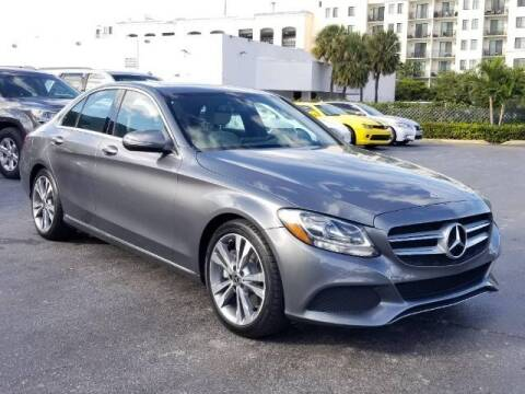 2018 Mercedes-Benz C-Class for sale at Lifetime Automotive Group in Pompano Beach FL