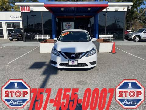 2018 Nissan Sentra for sale at 1 Stop Auto in Norfolk VA
